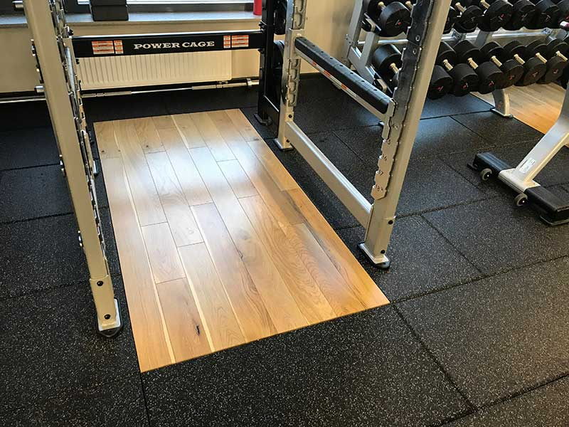 free weights flooring