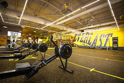 gym flooring uk
