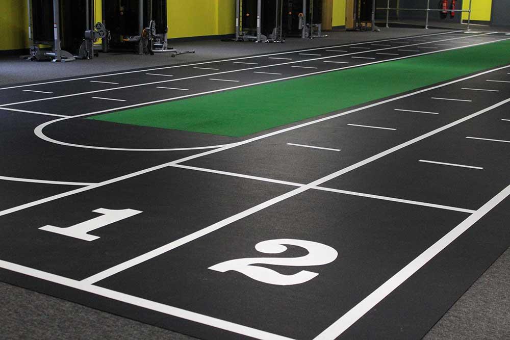 sprint track flooring