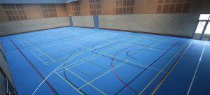 sports flooring case study Bryanston school