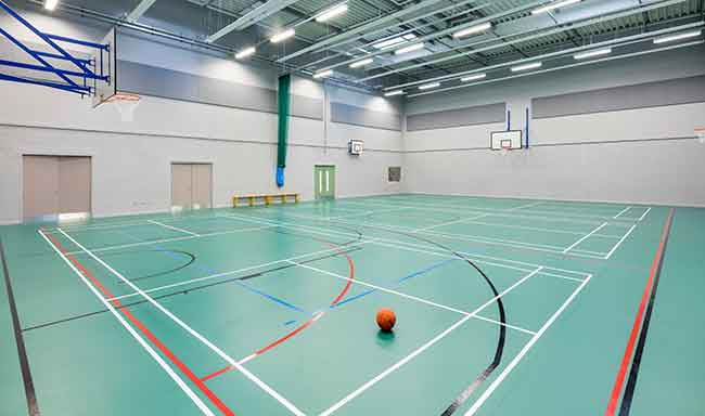 performance flooring for sports halls tvs