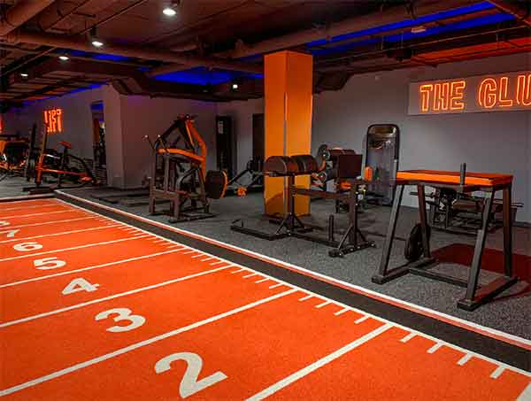 mountview academy gym flooring and acoustics case study
