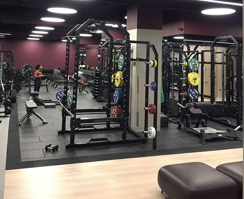 tvs case study gym flooring