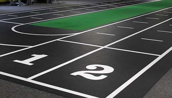 gym sprint track flooring