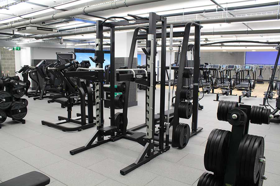 Considering noise and vibration reducing gym flooring