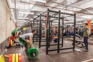 interlocking gym flooring