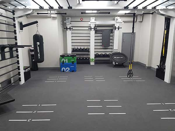 functional fitness gym flooring